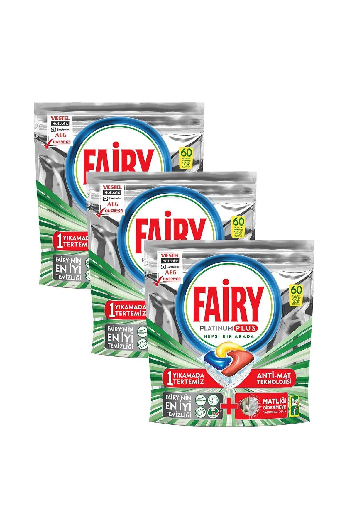Fairy Platinum Plus Bulaşık Makinesi Deterjanı Kapsülü 180 Yıkama 1