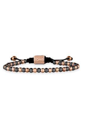 Toms Jewelry Unisex Bej Makrome Bileklik Tmj10595-695-b4
