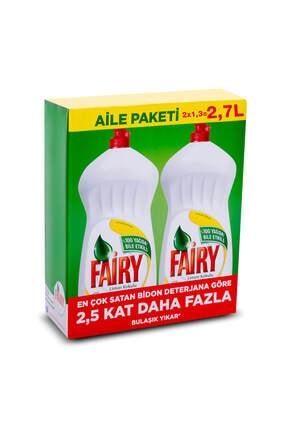 Fairy Limonlu Sıvı Bulaşık Deterjanı 2700 ml