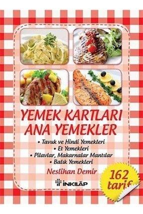 İnkılap Kitabevi Yemek Kartları - Ana Yemekler