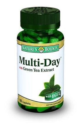 Nature's Bounty Multi Day With Green Tea Extract 50 Tablet
