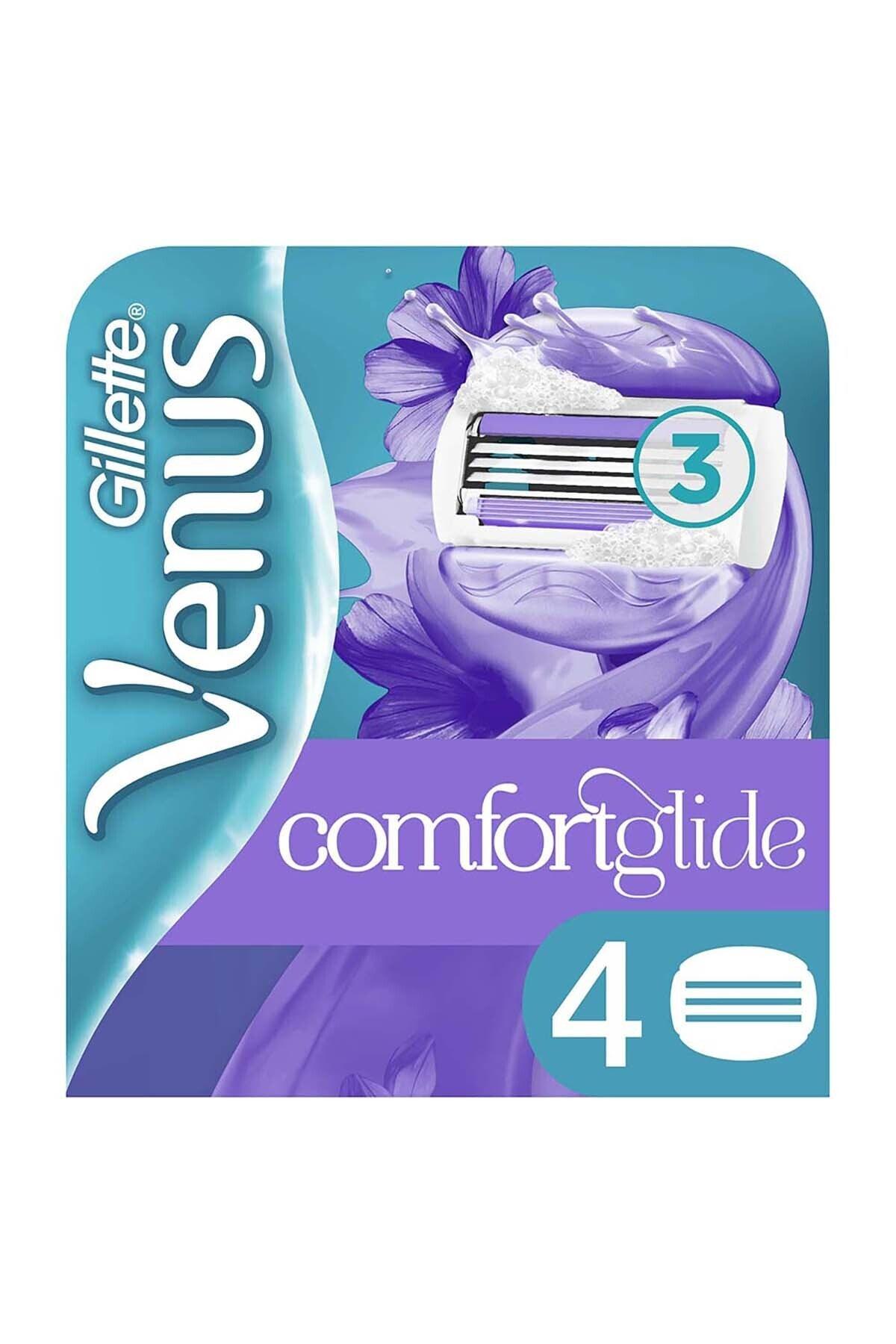 Gillette Venus Comfort Glide Breeze 4'lü Yedek Başlık 1