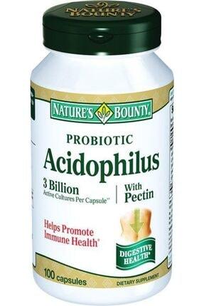 Nature's Bounty Probioic Acidophilus With Pectin 100 Kapsül
