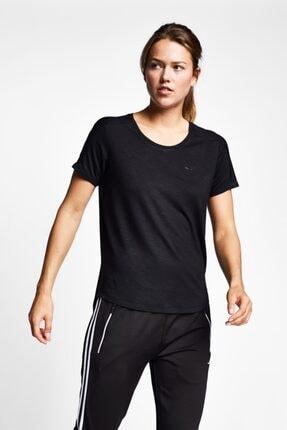 Lescon Kadın Siyah Kısa Kollu T-shirt 19n-2139