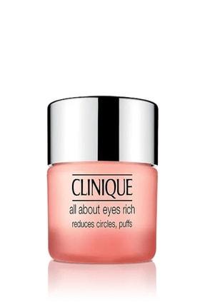 Clinique Clınıque All About Eyes Rıch Yoğun Göz Çevresi Bakım Kremi 15ml