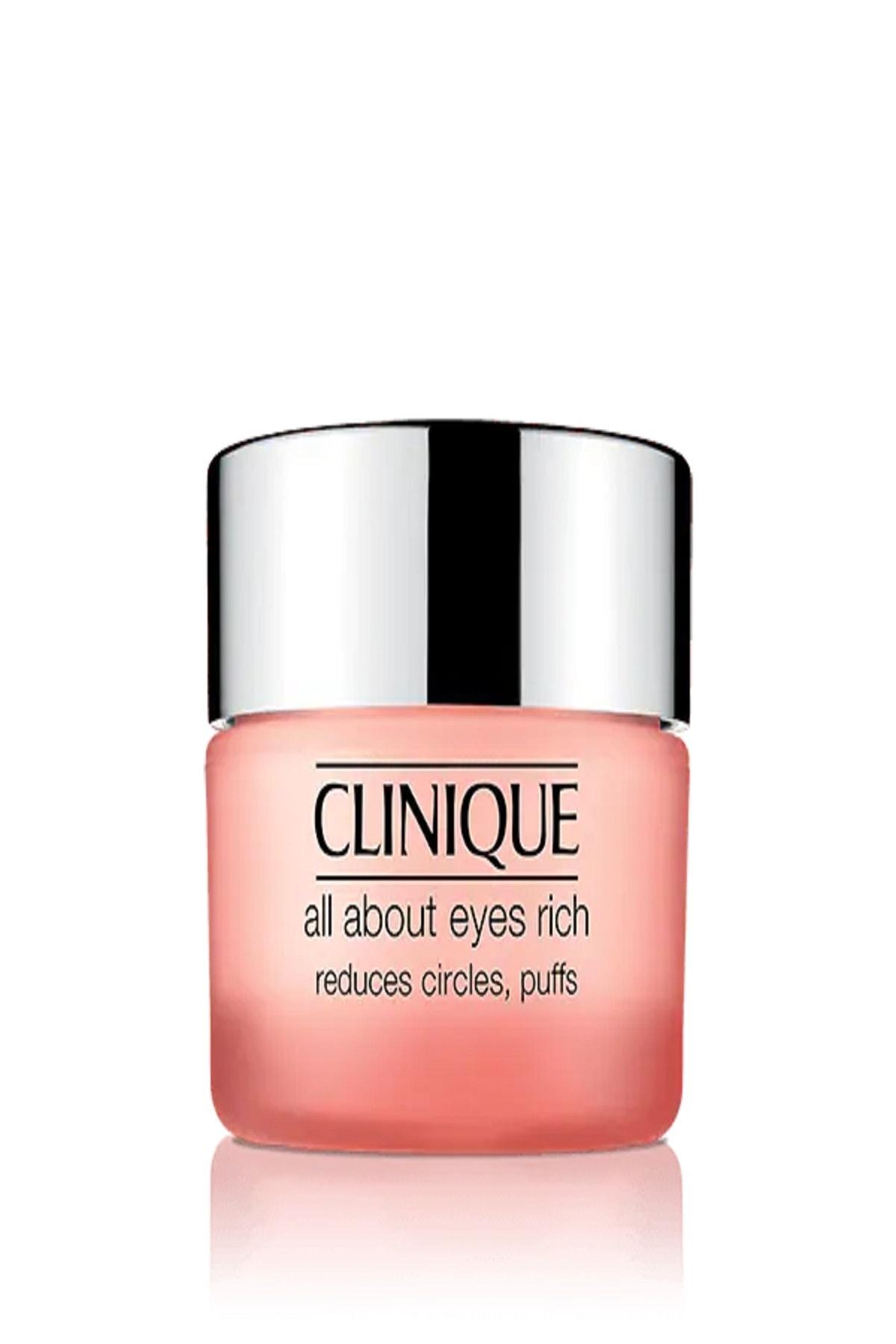 Clinique Clınıque All About Eyes Rıch Yoğun Göz Çevresi Bakım Kremi 15ml 1