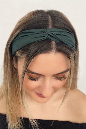 TAKIŞTIR Kadın Koyu Yeşil Renk Saç Bandı