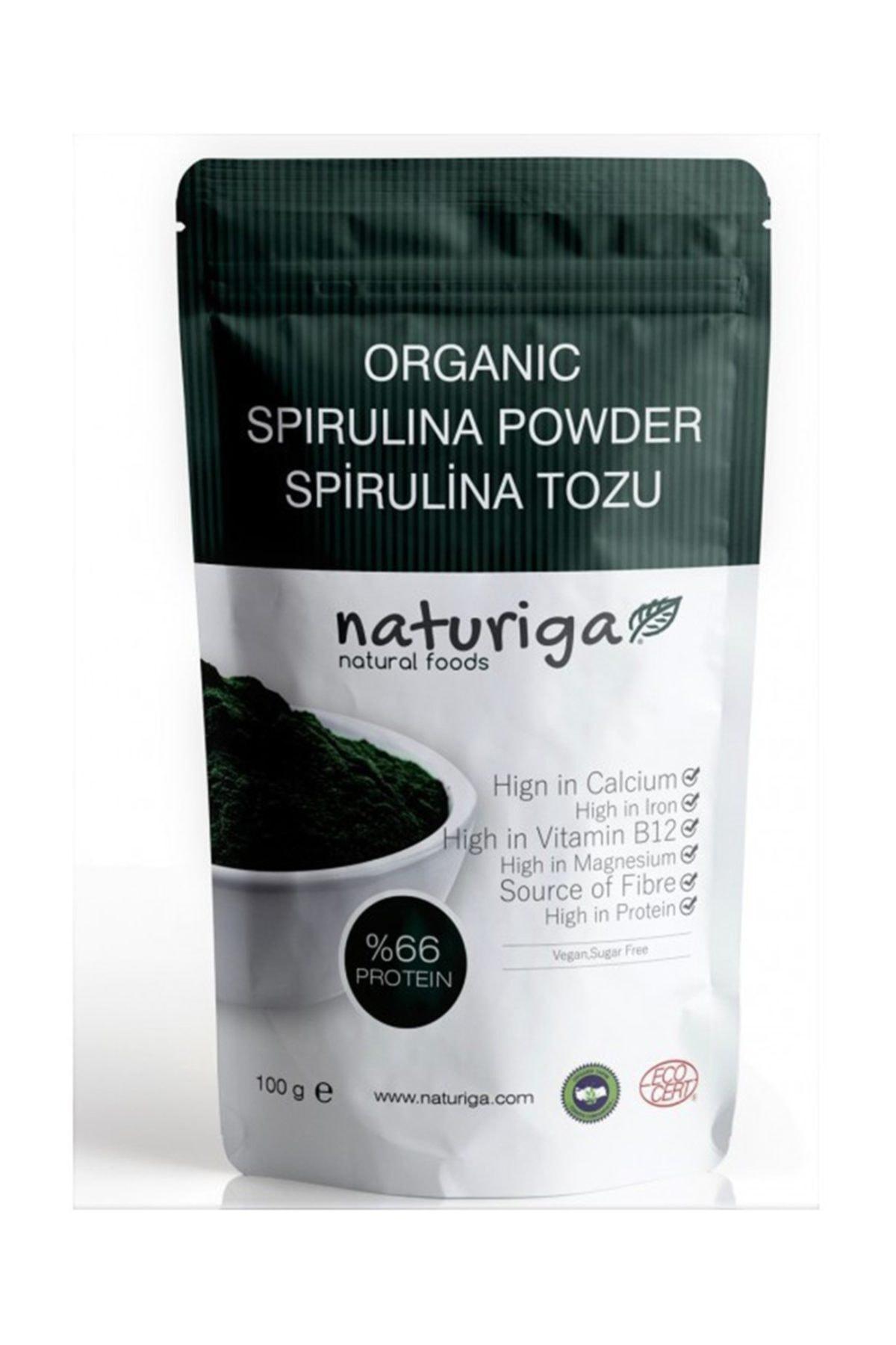 Naturiga Organik Spirulina Tozu 100 G 1