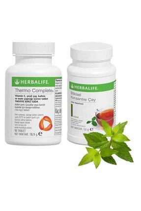 Herbalife Set 1 Adet Thermo Complete 90 Tablet Ve 1 Adet Klasik Çay 50gr
