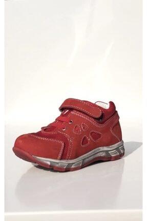 Perlina Çocuk Kırmızı Deri Bot 205