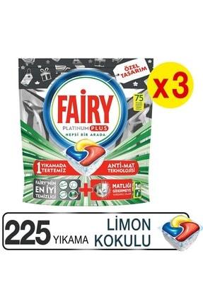 Fairy Platinum Plus 3*75 Yıkama Bulaşık Makinesi Kapsülü Özel Seri