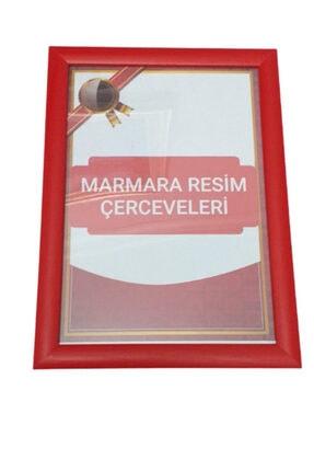 Marmara Sanat Evi 21*30 A4 Ebatlarında Kırmızı Çerçeve,yatay Ve Dikey Duvar Ve Masa Üstu Kullanıma Uygundur.