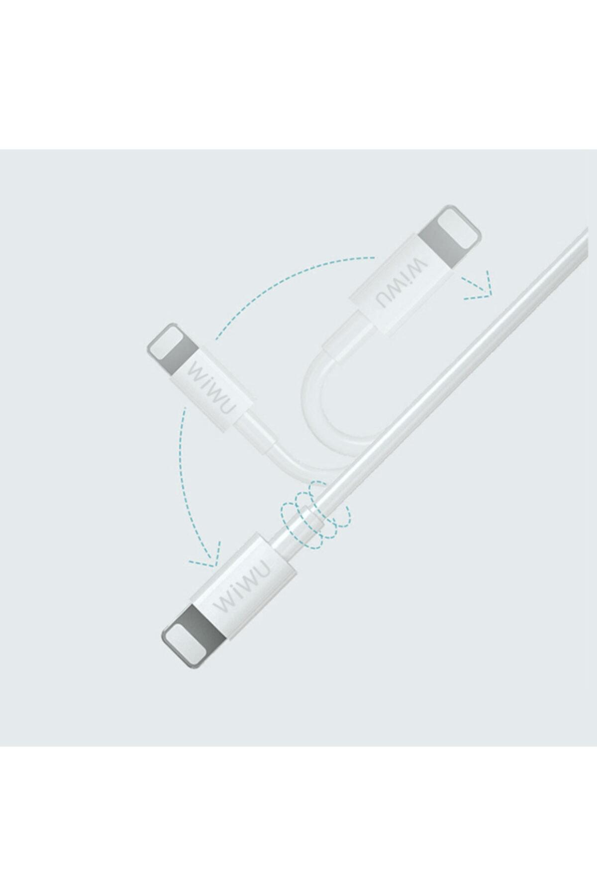 zore Lightning Usb Kablo Wiwu G80 2m 2