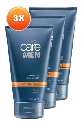 AVON Care Men Tıraş Jeli 150 Ml. Üçlü Set