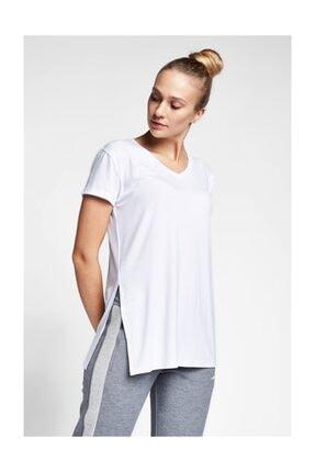 Lescon Kadın Beyaz T-Shirt 20B-2028