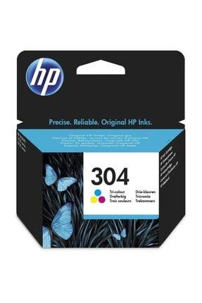 HP 304 N9k05ae / Deskjet 2600/2620/2630 /3720 / 3730 / 3732 Renkli Orjinal Kartuş