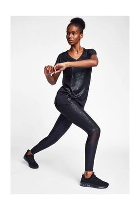 Lescon Kadın Siyah T-shirt 20b-2023