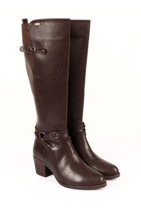 G.Ö.N Kadın Kahverengi Çizme 20562