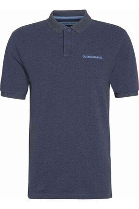 Calvin Klein Erkek Kısa Kollu Lacivert T-Shirt