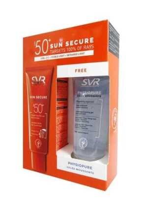 SVR Sun Secure Fluide Spf50+ 50 Ml Cleansing Foaming Gel 50 Ml