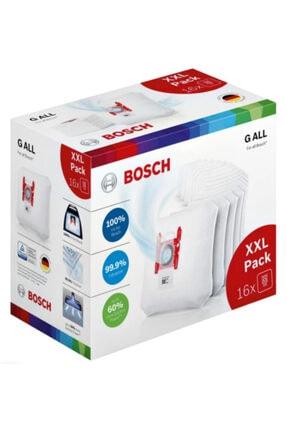 Bosch Gall G Tipi Uyumlu Elektrikli Süpürge Toz Torbası 16'lı Paket