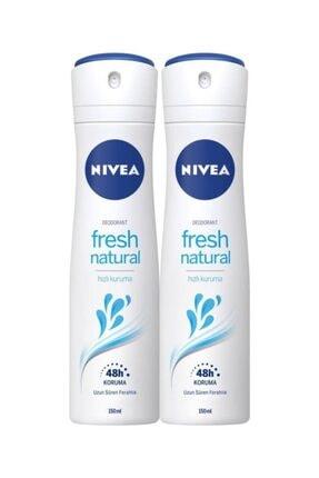 Nivea Fresh Natural Kadın Deodorant 150 Ml X 2