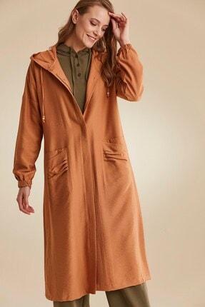Nihan Kadın Kahverengi Pardesü C4176