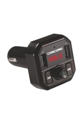 Concord Bluetooth Araç Kiti Fm Transmitter 3.1a Hızlı Şarjlı