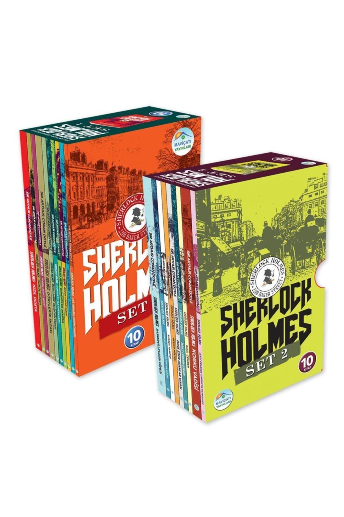 Mavi Çatı Yayınları Sherlock Holmes Serisi 20 Kitap Set Maviçatı Yayınları 1