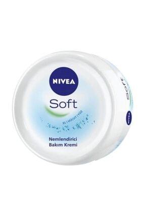 Nivea Soft El Yüz Vucut Nemlendirici Bakım Kremi 100 Ml