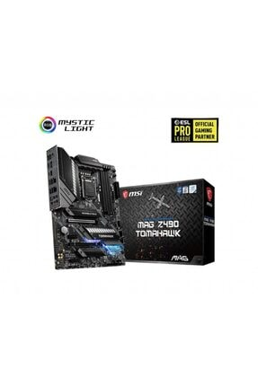 MSI Mag Z490 Tomahawk Lga 1200 Soket Intel Z490 Anakart