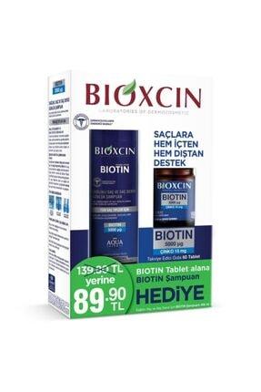 Bioxcin Biotin 5000 Mcg 60 Tablet + Biotin Şampuan 300 Ml Kofre