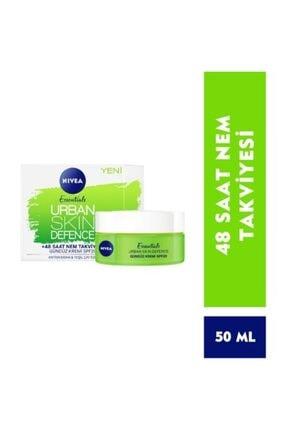 Nivea Urban Skin Detox Spf 20 50 Ml 48 Saat Nem Takviyesi Gündüz Kremi