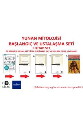İş Bankası Kültür Yayınları Yunan Mitolojisi Başlangıç Ve Ustalaşma 5 Kitap Set Mitoloji 101-theogonia-ilyada-odsseia-aeneas