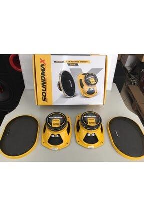 Soundmax Sx-m69k 300w 6x9 Mıdrange Oval Hoparlör