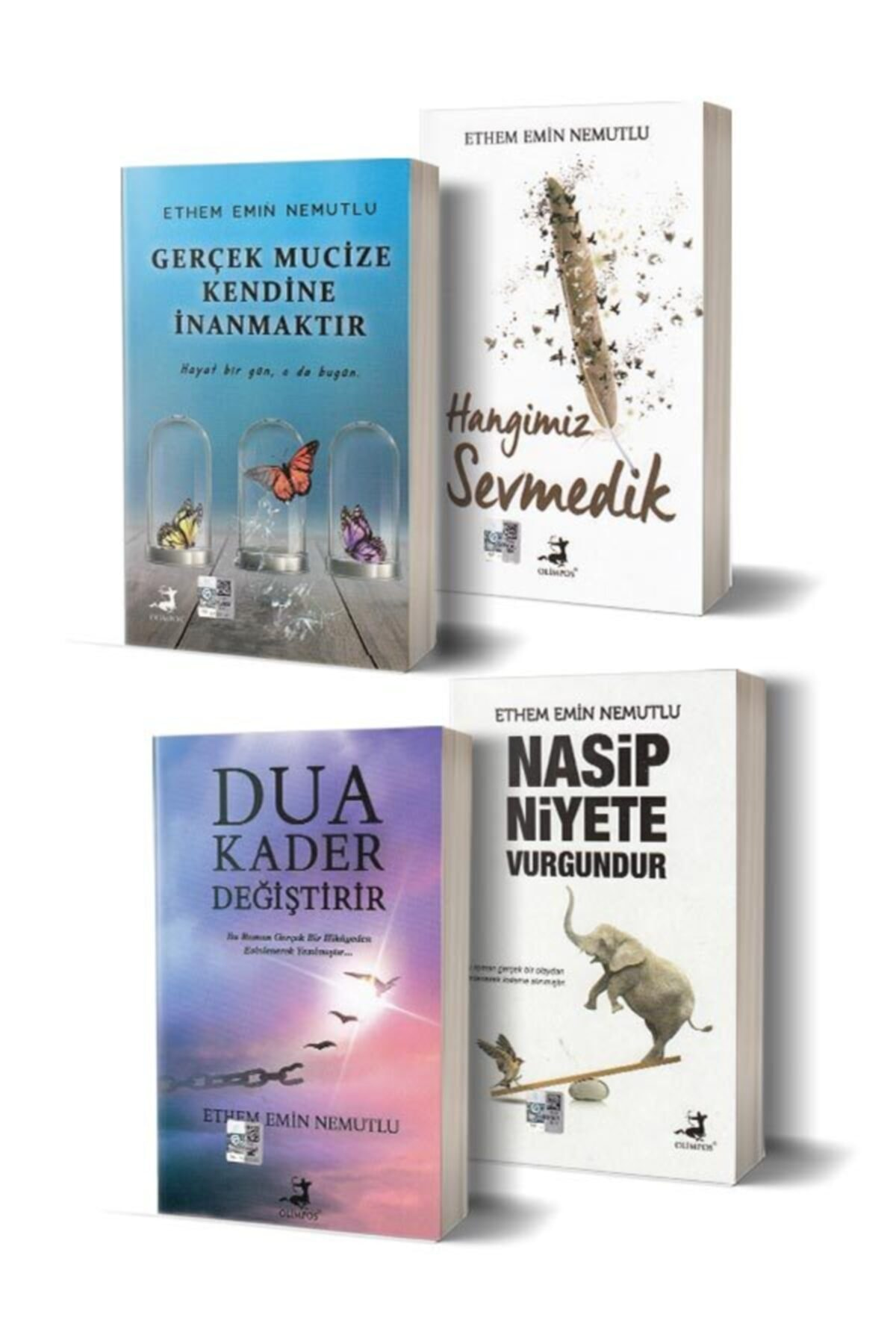 Olimpos Yayınları Ethem Emin Nemutlu Seti - 4 Kitap 1