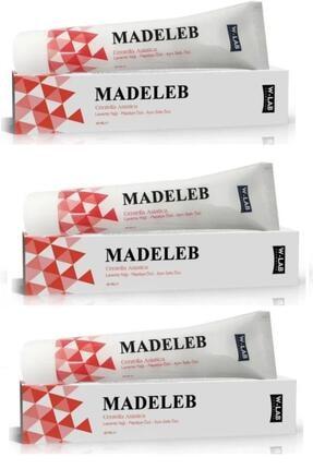W-Lab Kozmetik Madeleb 40ml 3'lü Paket Cilt Yenileyici Krem