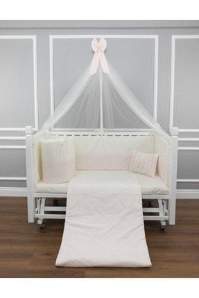 MAYA BABY Pudra First Uyku Seti Cibinlikli 80x140 cm