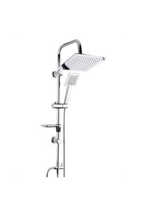 Beyazsu Dubai Duş Seti, Krom Batarya Tepe Yağmurlama Duş Seti Robot