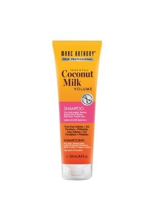 MARC ANTHONY Ince Telli Saçlar Için Dolgunlaştırı&kalınlaştırıcı Coconut Milk Şampuan 250 Ml