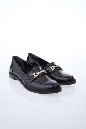 Pierre Cardin PC-50610 Rugan Siyah Kadın Ayakkabı