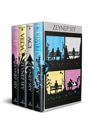 Ephesus Yayınları Solucan Serisi Kutulu Seti 4 Kitap Ciltli - Zeynep Sey -