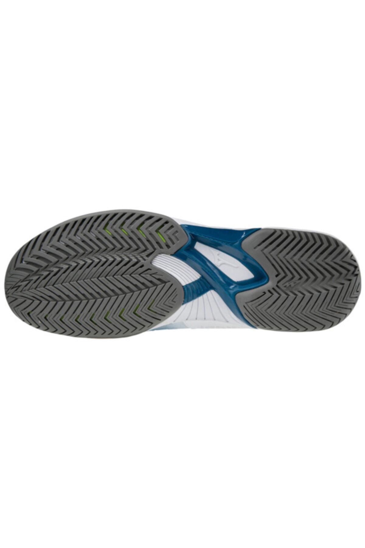 MIZUNO Erkek Beyaz Wave Exceed Tour 4 Ac Unisex Tenis Ayakkabısı 2