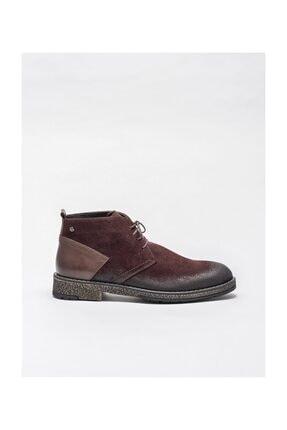 Elle Shoes Bordo Deri Erkek Günlük Bot
