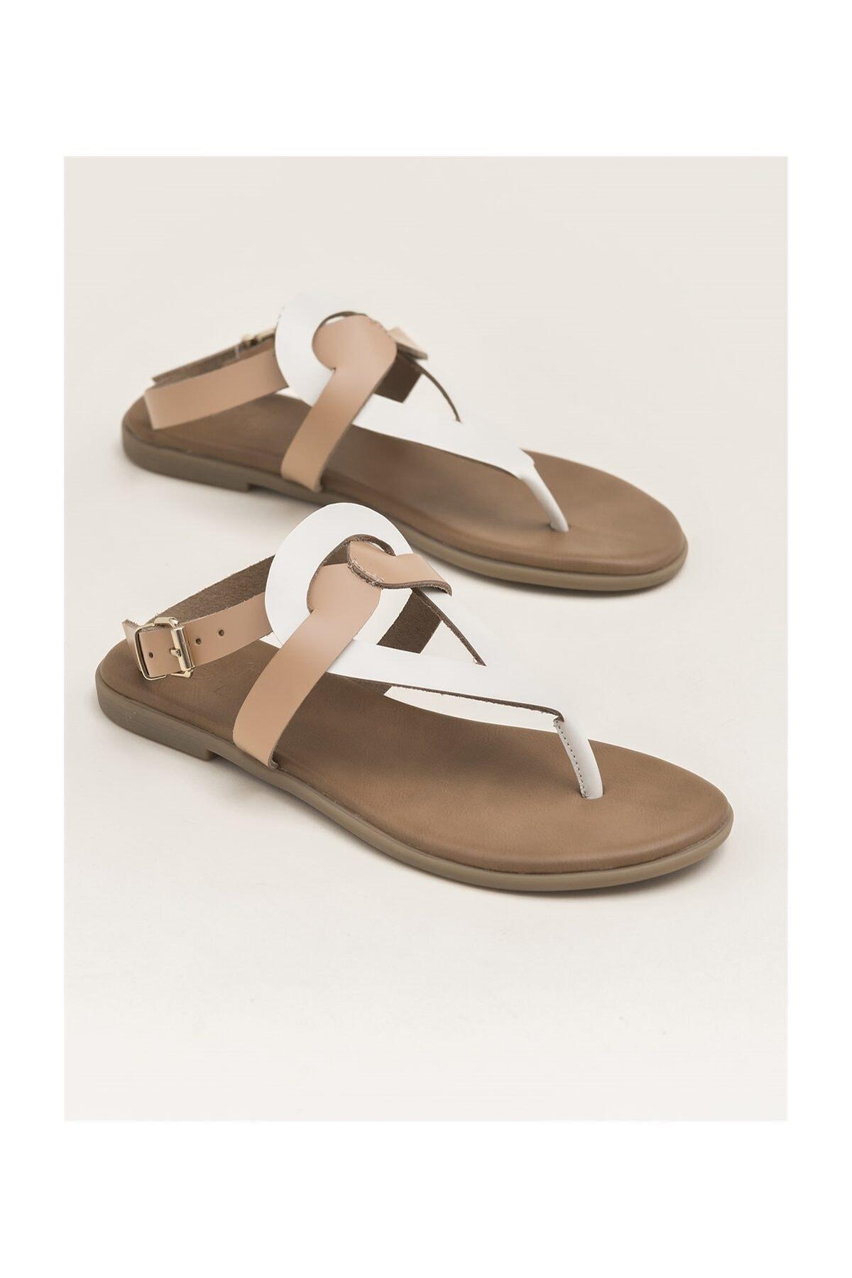 Elle Shoes Ishıta Kadın Sandalet 1