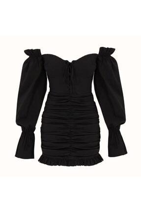 Naia İstanbul Kadın Siyah Lily Elbise