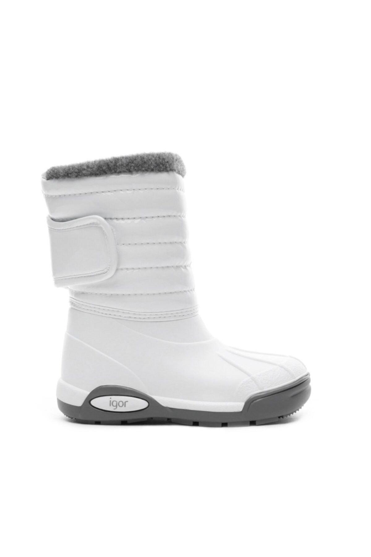 IGOR Çocuk Beyaz Yağmur Kar Botu W10168 1