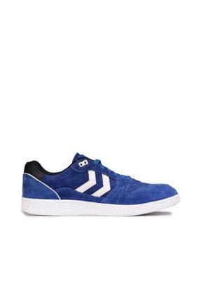 HUMMEL Unisex Mavi Hmlhb Team Suede Sneaker Unisex Ayakkabı
