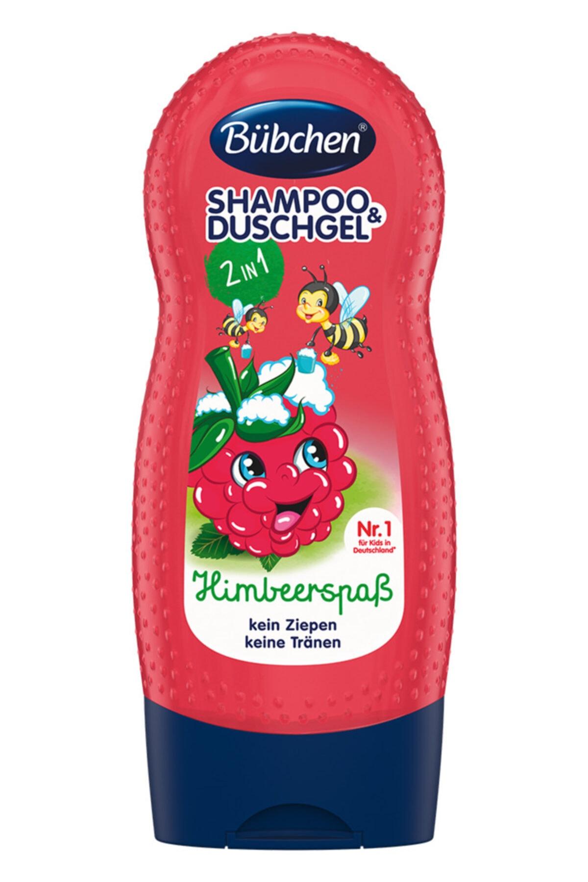 Bübchen Frambuazlı Çocuk Şampuanı Ve Duş Jeli 230 ml 1
