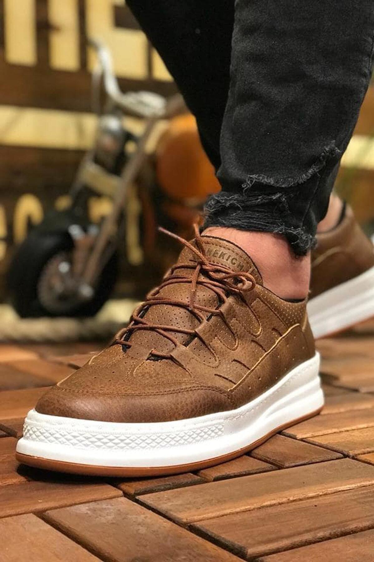 Chekich Erkek Taba Sneaker Ch040 1